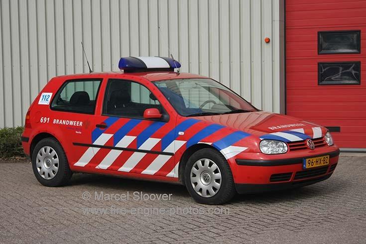 Brandweer Venlo 691 Volkswagen Golf