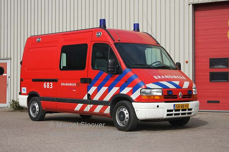 Brandweer Venlo VL683 Renault Master