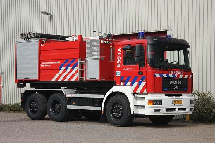 Brandweer Venlo VL664 MAN Prime mover