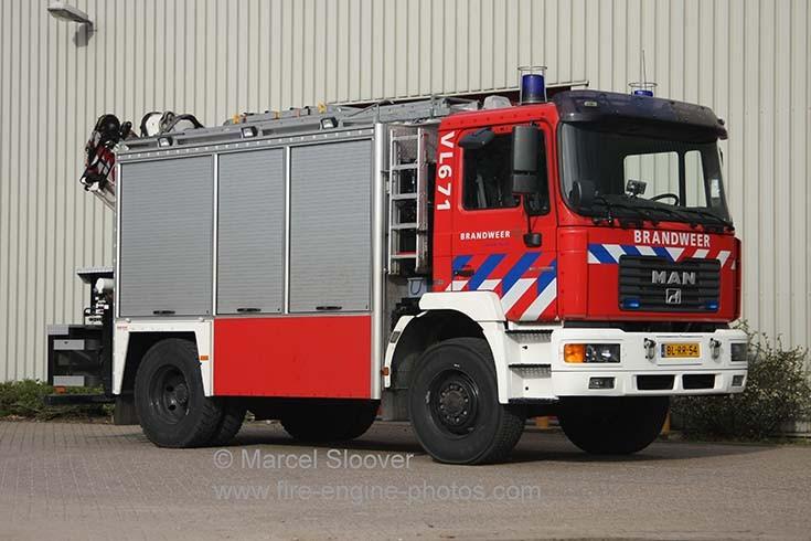 Brandweer Venlo VL671 MAN Mucar Rescue truck