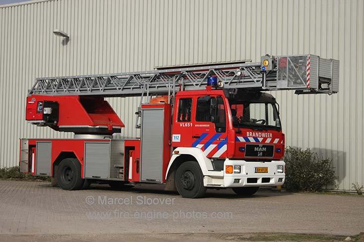 Brandweer Venlo MAN Metz