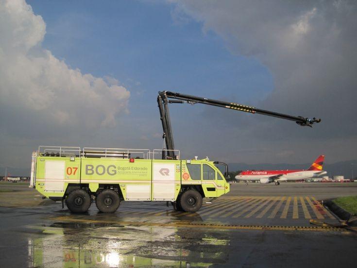 Bogota, Colombia - Opain Eldorado airport