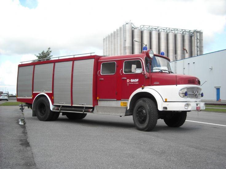 Pumper Mercedes - FB BASF