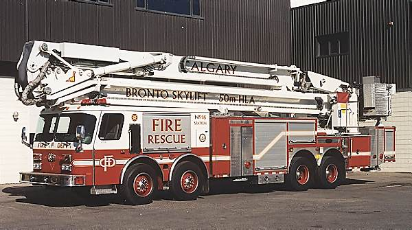 Calgary Albert Canada - Bronto Skylift
