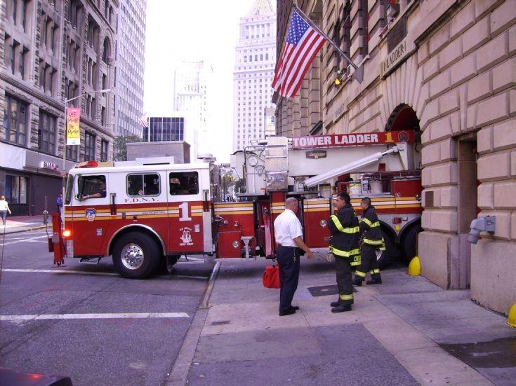 FDNY Ladder 1 Duane street