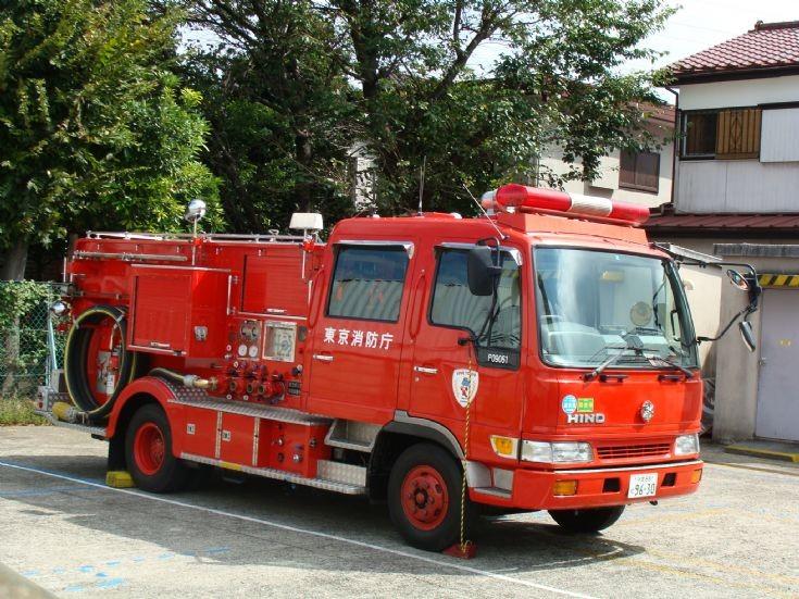 Tokyo Fire Department Hino pump
