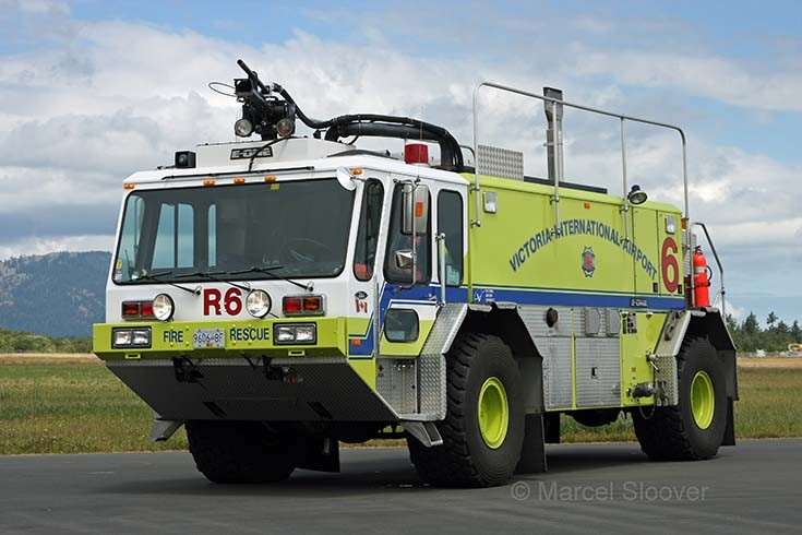 Red 6 E-One Titan III Victoria airport