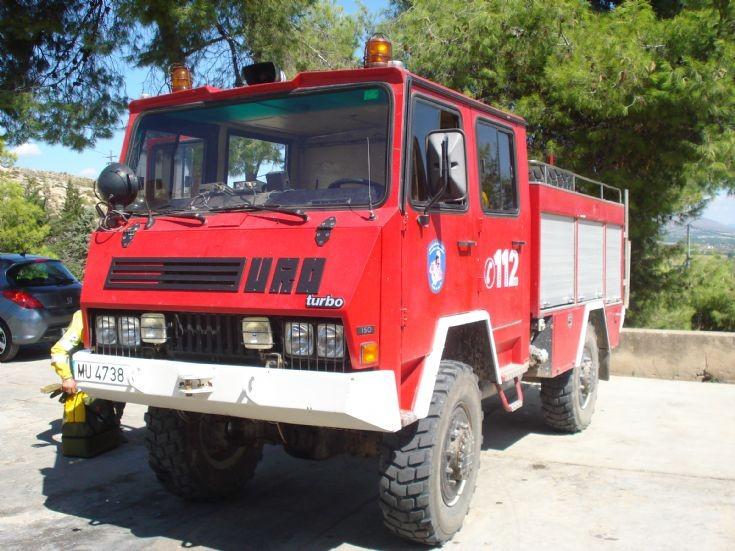 URO Kronenburg Bush fire truck