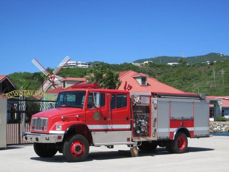 U.S.Virgin Islands Freightliner Pumper
