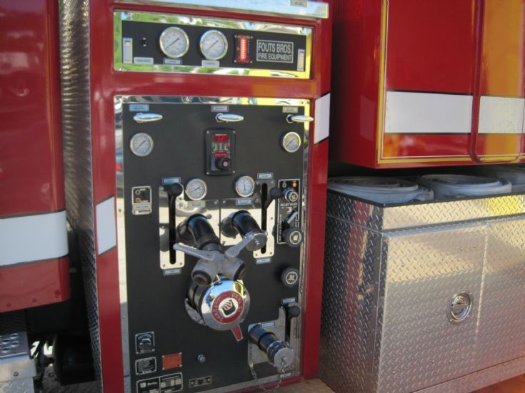 U.S.V.I. Pump panel Freightliner