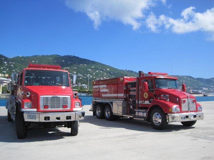 St Thomas, USVI pumper and tanker
