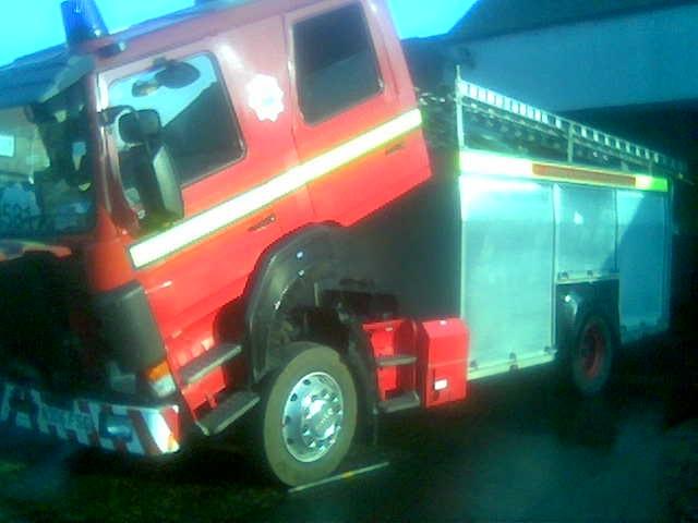 Fire engine 581 feeling unwell
