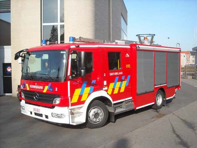 Pumper Sint-Niklaas Mercedes Vanassche