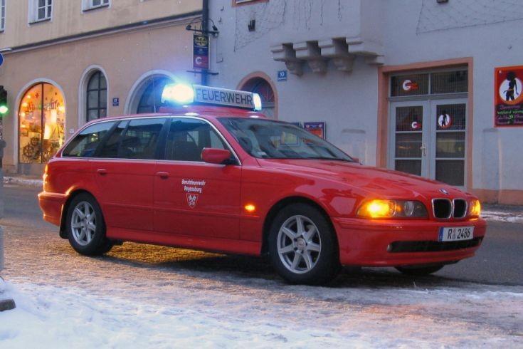 Regensburg Fire Department chief unit 2