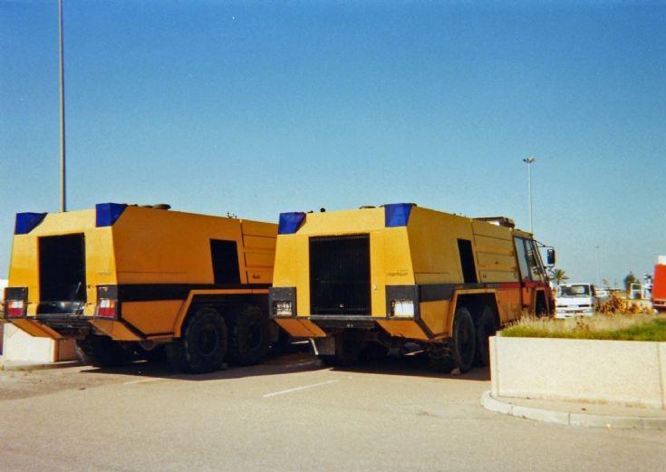 Rosenbauer Simba Crash Tenders in Iraq