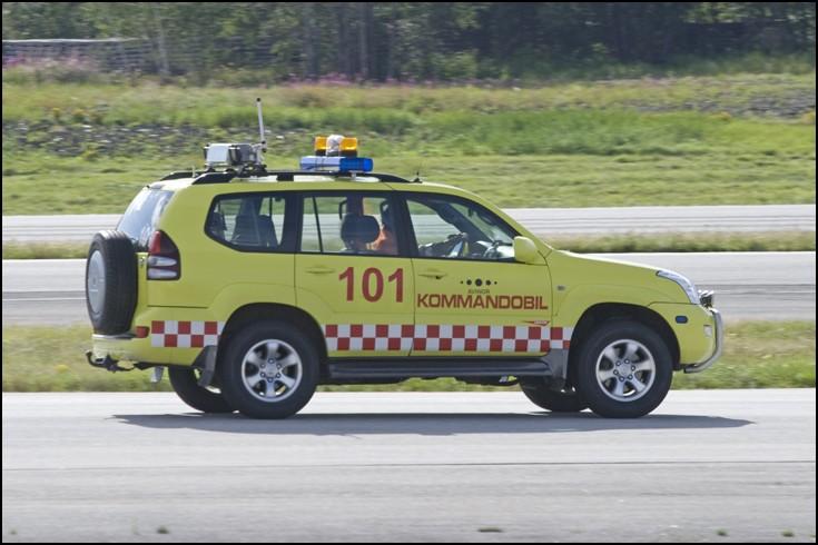 Command Car - Toyota Landcruiser