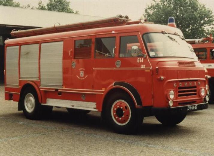 Commer Brandweer Krimpen the Netherlands