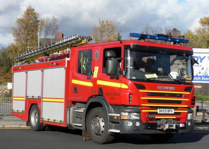 Merseyside Fire & Rescue - Special Rescue Pump