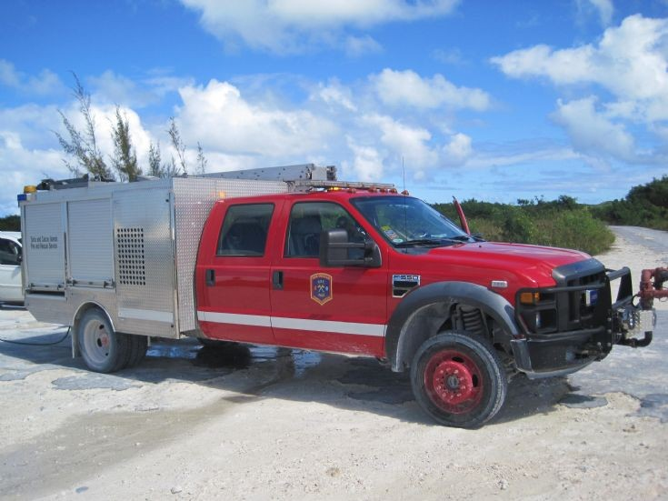 Turks and Caicos Island Rosenbauer mini pumper
