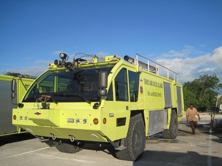 Turks and Caicos Island Rosenbauer Panther