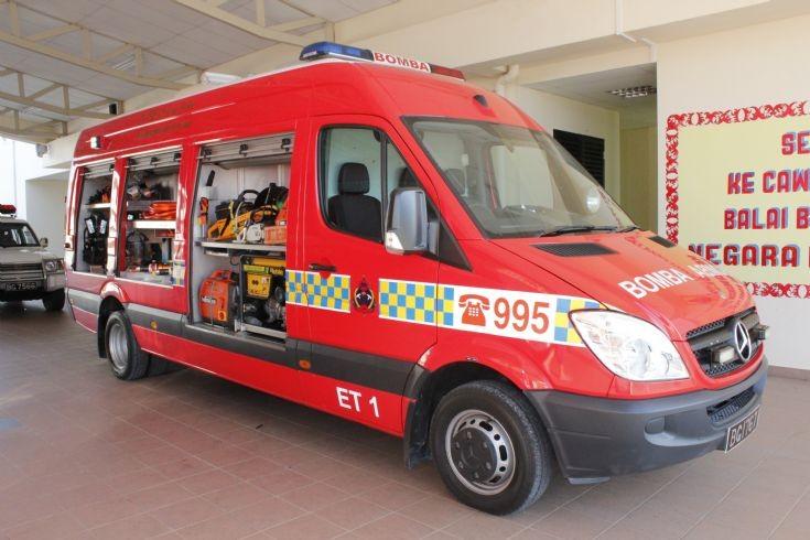 Mercedes Sprinter Emergency Tender no.1 (ET1)
