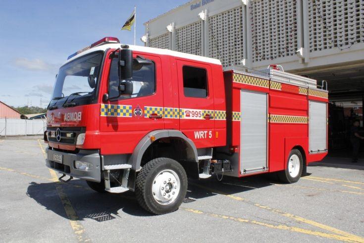 Mercedes Atego / SK Fire Water Tanker no.5 (WRT5)