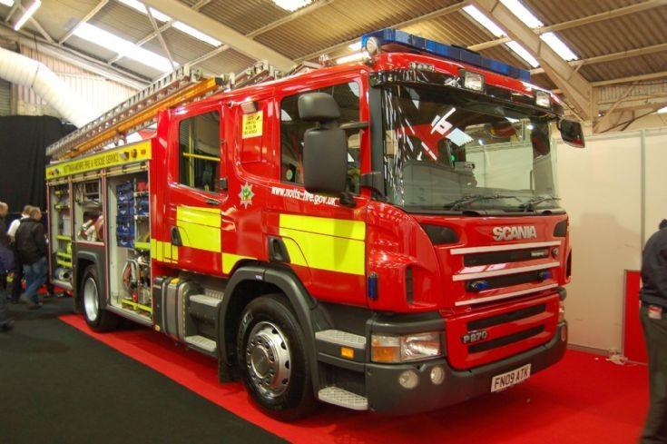 Nottinghamshire FRS Scania FN09 ATK