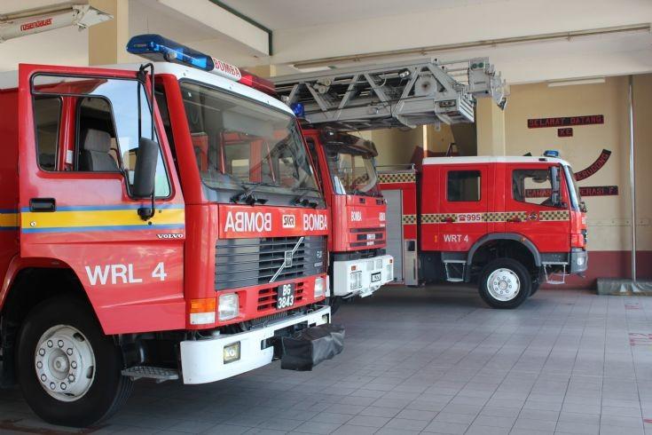 Jerudong FS fleet Brunei Fire and Rescue service