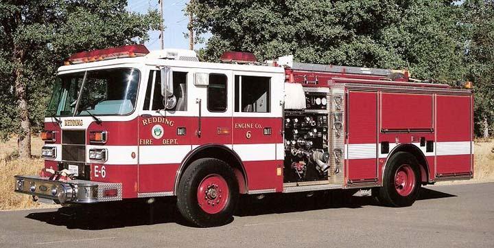 Redding Fire Dept, CA - Engine 6