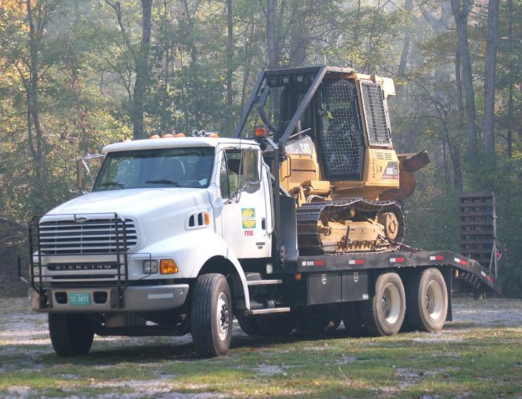 Tennessee Forestry Catapillar D3