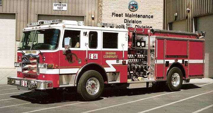 Sacramento Metro Fire District - Pierce Engine