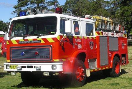 Pumper (engine) 80 New South Wales Fire Brigades