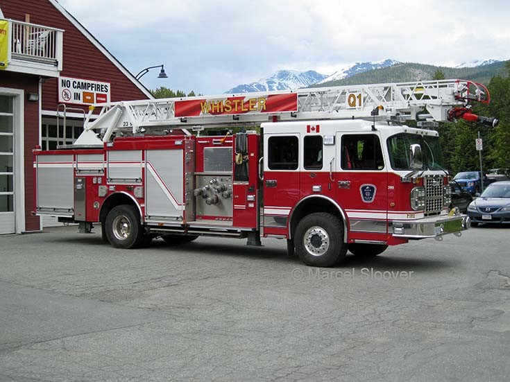Whistler Fire Department Quint