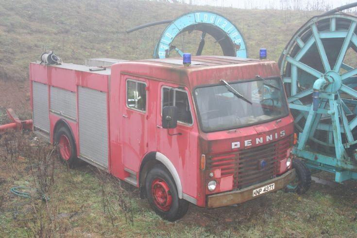 1979 Dennis Fire engine