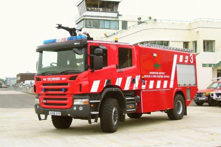 Shoreham Airport Fire 3.