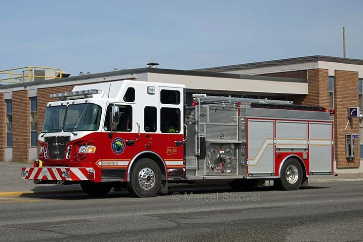 Engine 11 Quesnel Fire dept.