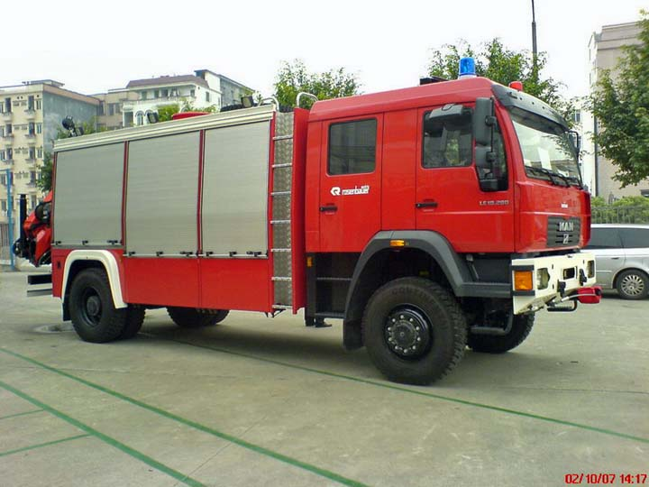 Yonghe Fire Brigade China  Rescue Vehicle