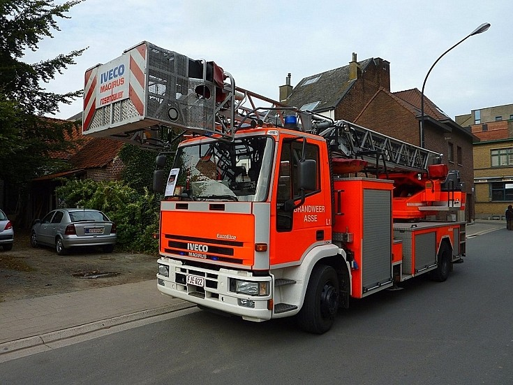Iveco Asse Fire Dept. Ladder.