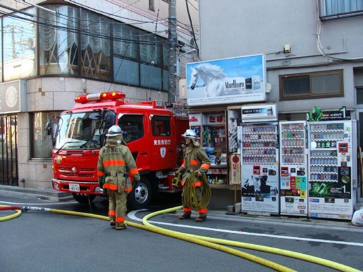 Hino Pumper Tokyo FD