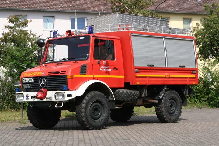 Feuerwehr Aschaffenburg Rescue truck