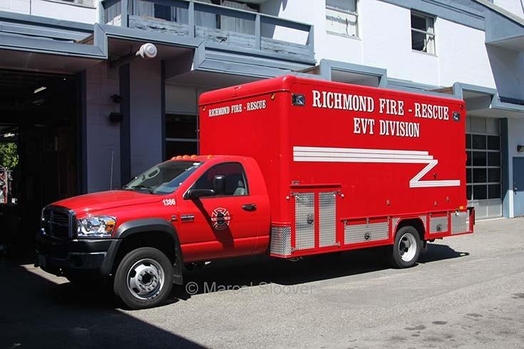Dodge EVT division Richmond Fire dept.