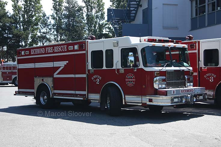 Engine 2 Richmond Fire department Canada