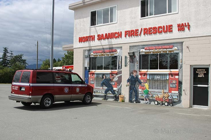 North Saanich Fire Rescue Hall 1