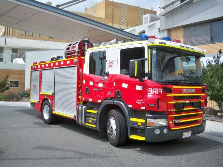Scania Pumper One - Geelong City