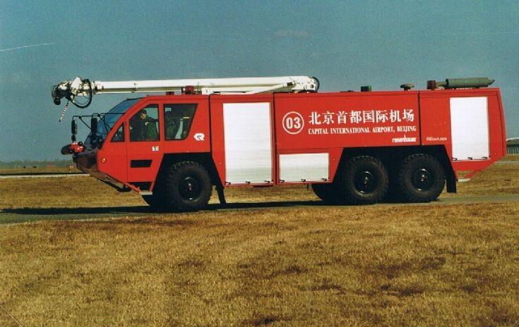 Beijing Capital Intl. Airport Firetruck 03