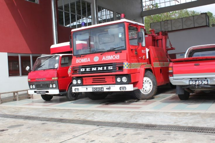 Dennis Recovery Vehicle 2 BFRD BG6124