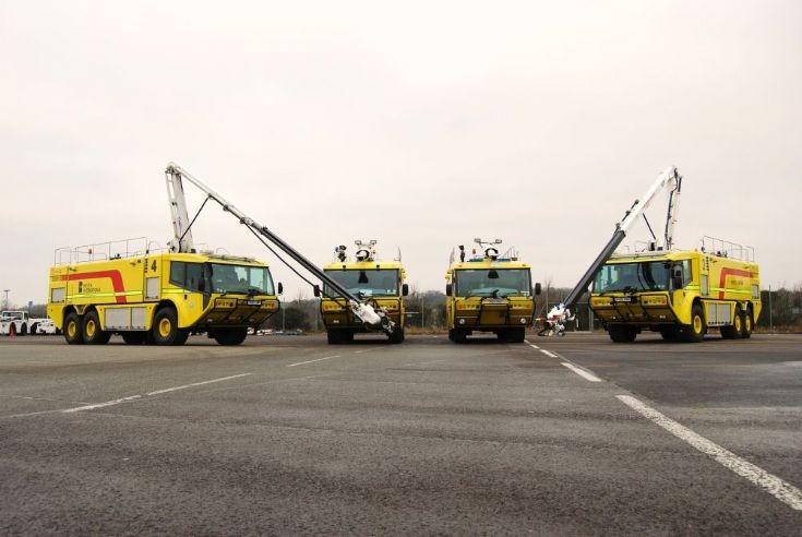 Bristol Airport Cobras line-up