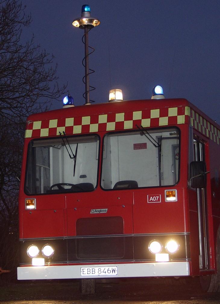 Red/White Beacons on U.K. Appliances