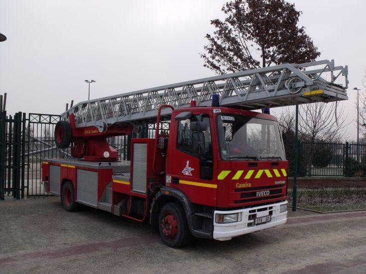 EPA68 Fire apparatus Iveco Aerial