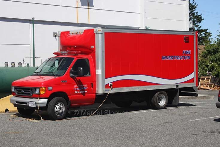 Fire investigation unit Nanaimo FD